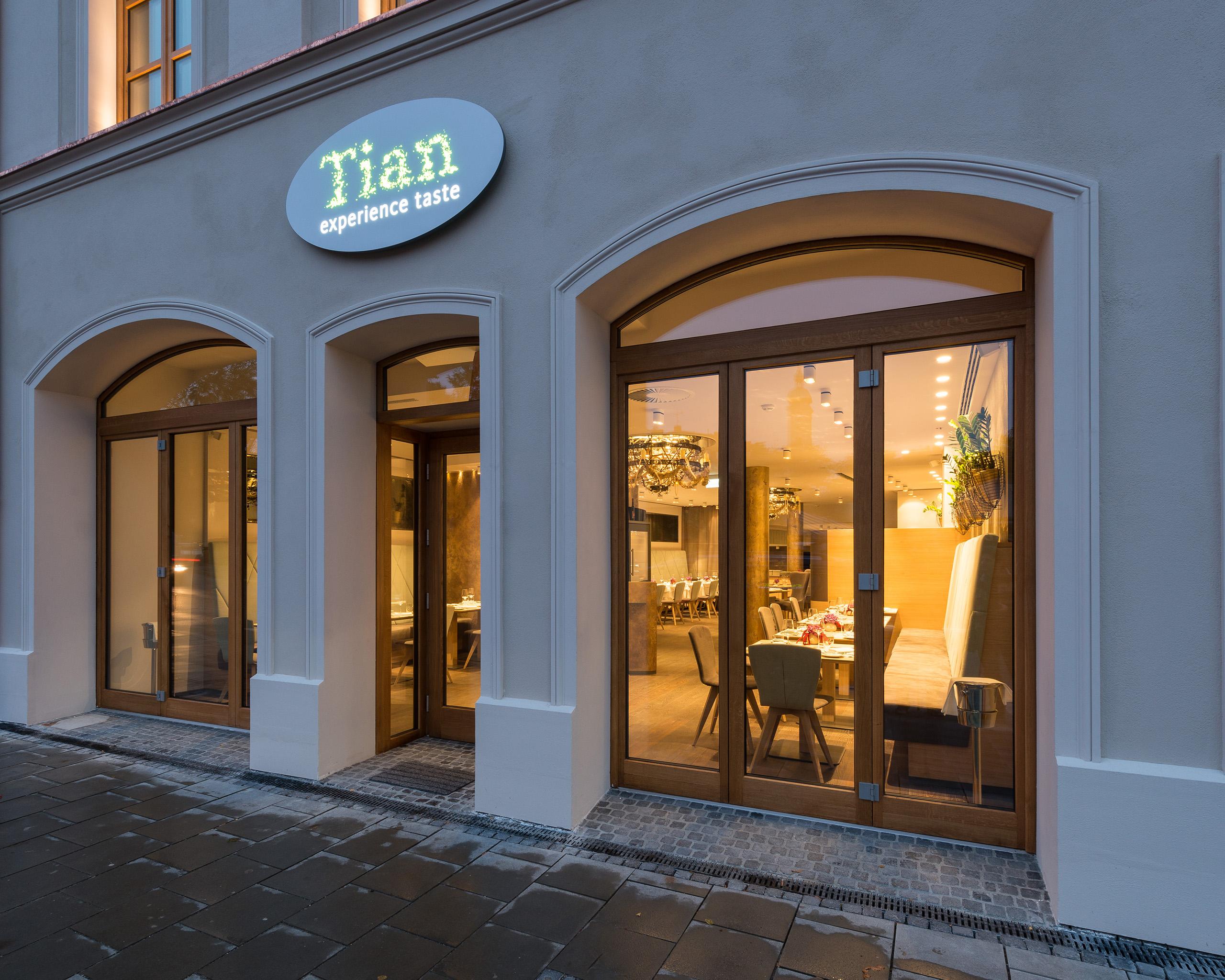TIAN München U2013 Vegetarisches Gourmet Restaurant